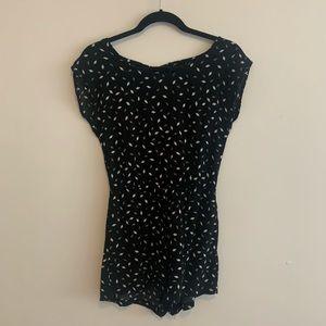 Dresses & Skirts - Black and white romper